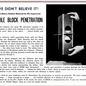 henry-bohlen-visible-block-penetration-ad-new-conjurers-magazine-1946-12