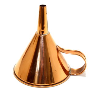 PL Copper Water Funnel by Petrie-Lewis