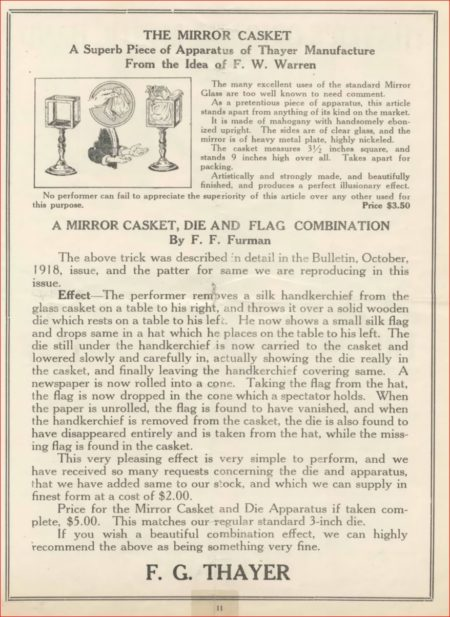 thayer-die-and-silk-casket-ad-magical-bulletin-1919