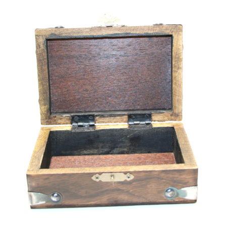 Celtic Card Box (Locking) by Viking Mfg.