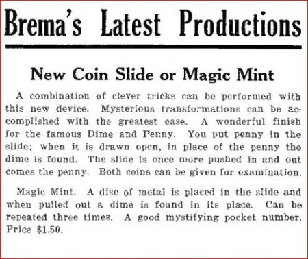 carl-brema-coin-slide-magic-mint-ad-sphinx-1925-10