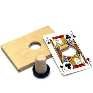 Cork Thru Card by Unknown