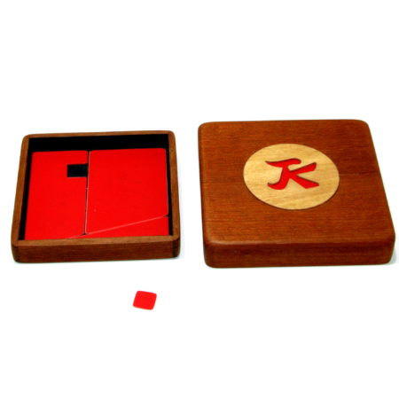 Red Chinese Puzzle (Willi Wessel Collection) by Alan Warner