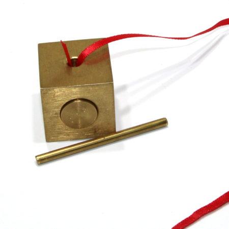 Solid Brass Ribbon Release by Bob Solari Magic