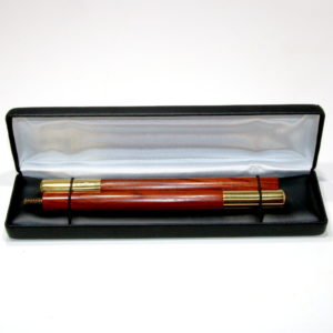 Cocobolo Two Piece Wand (With Brass Tips) by Shamrock Magic (Copy)