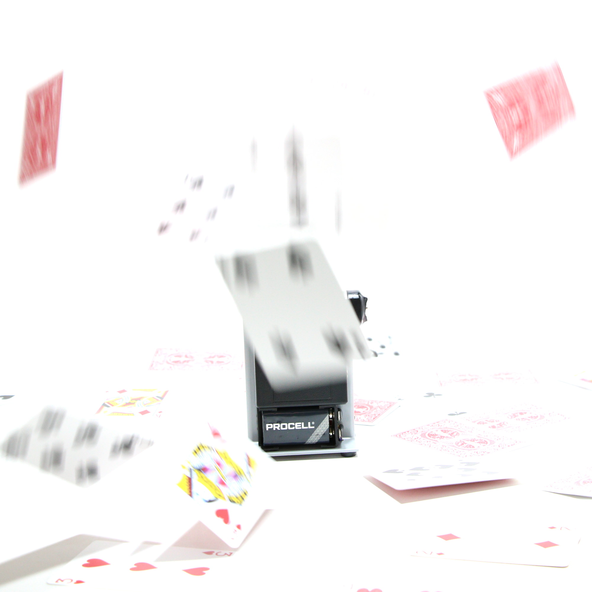 New Generation Card Fountain (Third Series) by Marcelo Contento