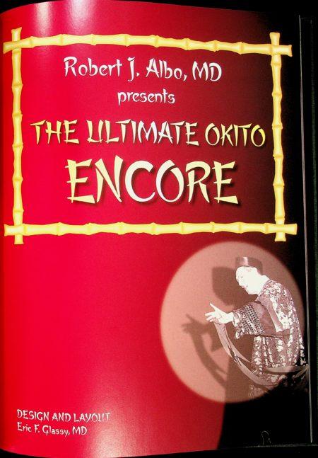 Albo 16 - The Ultimate Okito Encore by Robert J. Albo