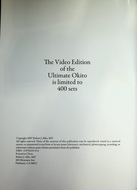 The Ultimate Okito by Robert J. Albo