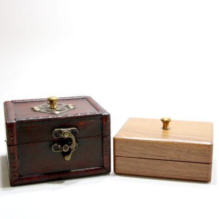 Medieval Card Box (Locking, Small) by Viking Mfg.