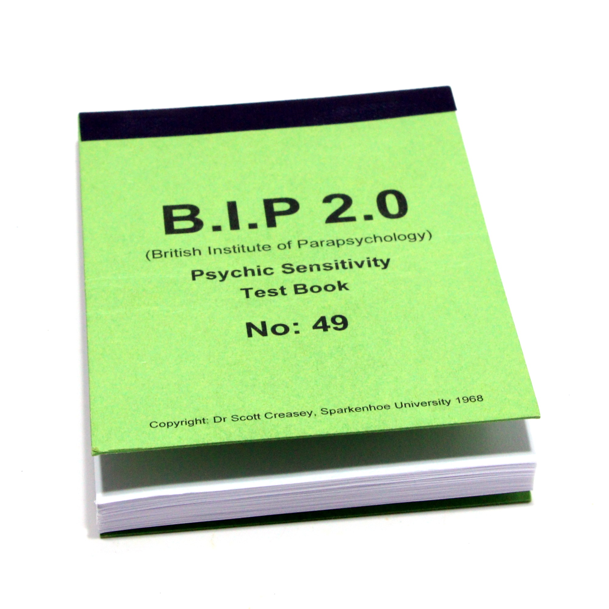 BIP Book 2.0 by Scott Creasy