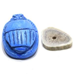 Ancient Blue PK Scarab by Little Jimmy's Prop Shop