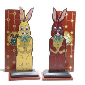 Custom Hippity Hop Rabbits by Rick Heath, B.C. Magic Mfg. Co.