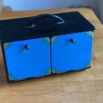 Modern Sliding Die Box by Supreme Magic Company