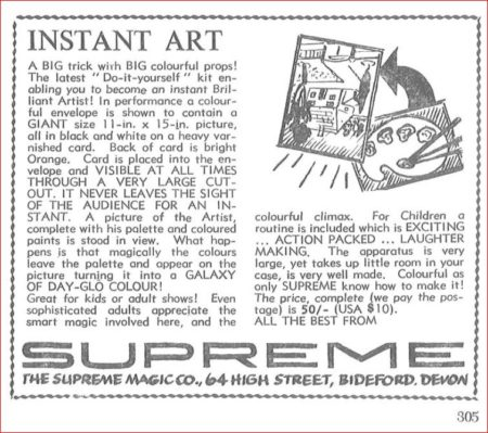 Instant Art by Supreme Magic Company