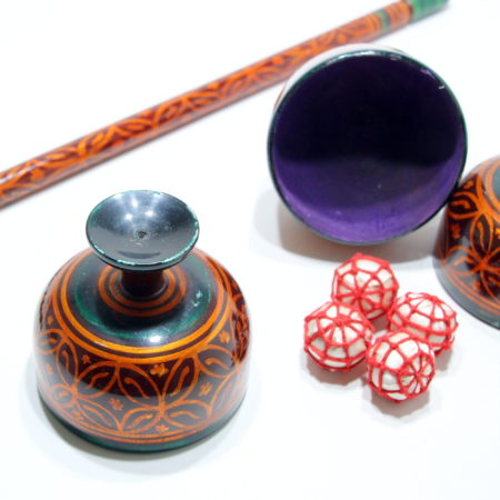 Indian Style Cups, Balls and Wand by D.A. Tayade