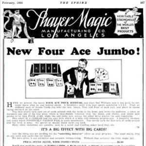 thayer-four-ace-jumbo-ad-sphinx-1930-03