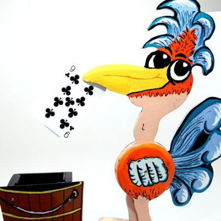 Fifi The Card Pecker by Jack Hughes