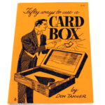 Fifty Ways to Use A Card Box by Don Tanner