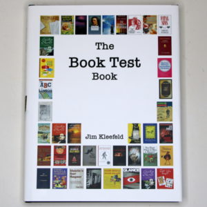 The Book Test Book by Jim Kleefeld