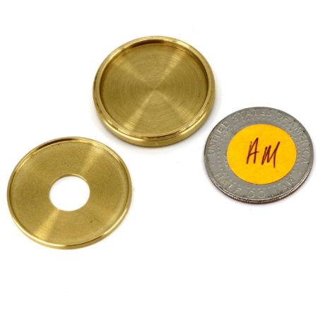 QuartOkito Coin Vanish (Half Dollar) by Viking Mfg.