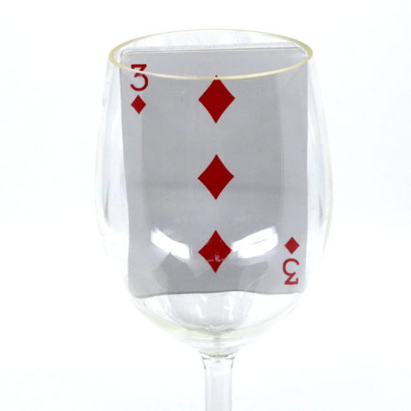 Comedy Come-Back Card (Wine Glass) by Eric Lews, Magikraft Studios