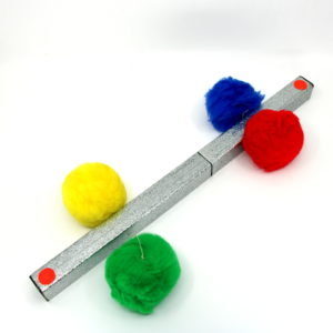 Pom-Pom Prayer Stick by Unknown