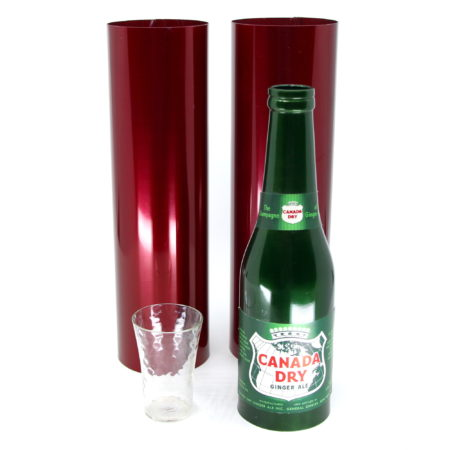 Canada Dry Passe Passe Bottles by Richard Himber