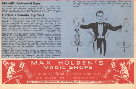 richard-himber-canada-dry-trick-ad-genii-1950-03
