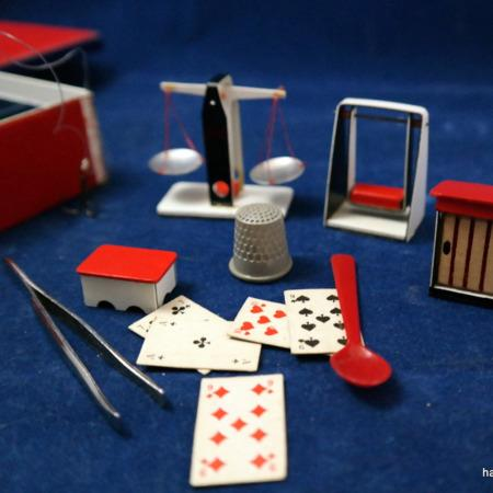 Miniature Magic Box (Flea Circus) by Unknown