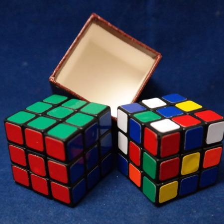 Rubik Magic Cube with ideas from Peki, Magiro, Eckhard Boettcher